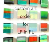 Reserved Custom Art Order for LP in FL | custom modern abstract art | original custom wall sculpture by Rosemary Pierce