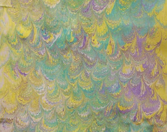 MarbledFabrics-Marbled Soft Bamboo Artcloth
