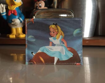 Alice Disneyland Map Mini Wallet