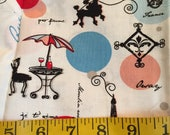Half Yard of Paris Fabric