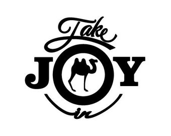 Take Joy In Camels Decal