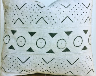 Authentic African mudcloth geometric pattern /modern/ boho