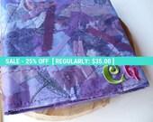 Purple Monogram Organizer, Password Organizer, Book, Keeper, Tracker, Journal, Address, Housewarming Gift