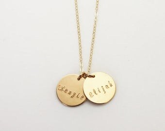 Personalized Necklace, Gift for Mom, Custom Name Necklace, Personalized Jewelry, New Mom Gift, Mother's Necklace, Kids Names