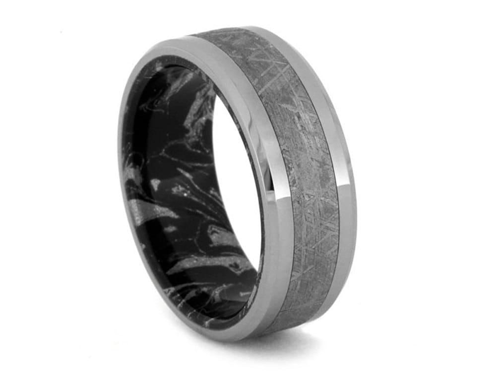 Meteorite Ring Scratch