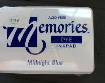 Memories Dye Inkpad Midnight Blue