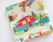 Happy Camper Washcloth - Organic Bamboo Washcloth - Baby Washcloth - Organic Bamboo Washcloth - Bath & Beauty - Facecloth - Washcloth
