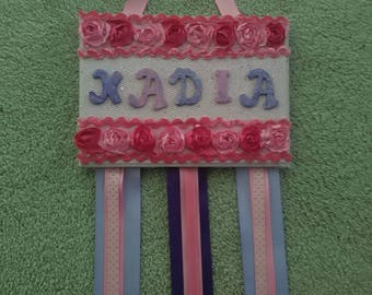 Personalized Hairbow Hair bow Holder