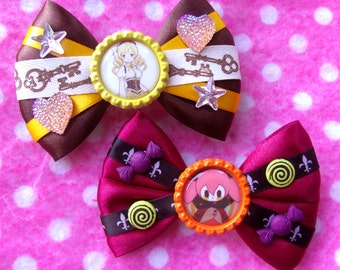 Madoka Magica Mami Bebe Magical Girl Anime Hair Bows