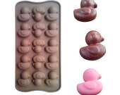 Rubber Duckie Duck Silicone Soap, Ice Cube, Chocolate or Candy Mold Baking Supplies Jenuine Crafts