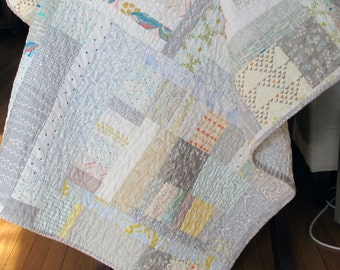 Grays and Soft Colors Quilt