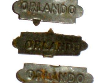 3  Antique (1910s) Orlando Tobacco Tags