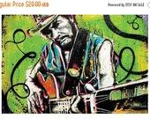 ON SALE Merle Haggard - Okie from Muskogee - 18 x 12 High Quality Pop Art Print