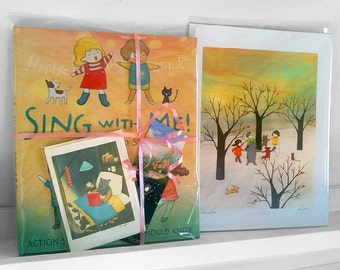 Limited Holiday Special! Signed Nursery Song Book Set (2/12)