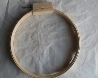 Quilting Embroidery Hoop Wood Wooden 14 inch