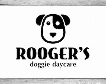 Dog Logo Design, Custom Logo, Grooming Logo, Business Logo, Logo for Groomers, Pet Sitting Logo, Premade Logo Design, Custom Logo