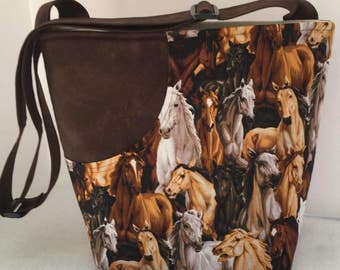 Horse Bag with Adjustable Strap
