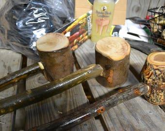 Mallet, Wood Gavel, Humorous Gift, Outdoorsman, Cabin hammer, Ozark decor Set of 3