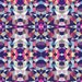 Modern Aztec Fabric - Dark Garden Tribal By Beththompsonart- Multi Colored Abstract Geometric Cotton Fabric By The Yard With Spoonflower
