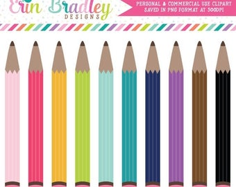 50% OFF SALE Pencils Clipart Clip Art for Personal and Commercial Use