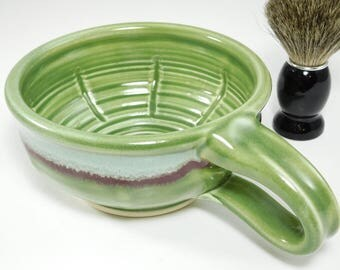 Wet Shave Ceramic Mug - Clay Shave Cup - Mug For Wetshaving - Ceramic Wetshave Mug - Shaving Mug - Wet Shave Pottery - In Stock