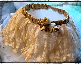 Handmade Tulle Tutu - Steampunk and Dior Roses