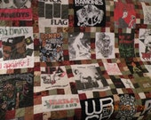 Rock Group Memory Quilt for Christy