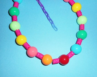Pink Mandy Candy Necklace