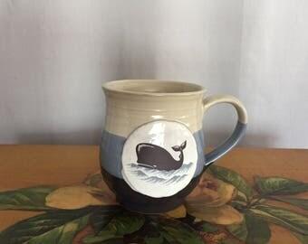 Whale Mug Vintage