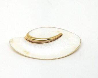 JJ Jonette Jewelry Vintage Abstract Enamel Pin