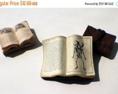 Miniature Open Book --- Two-Headed Fetus