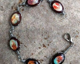 Saints Icon Bracelet~FREE SHIPPING!