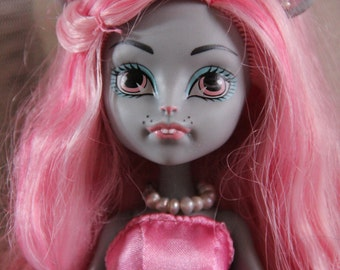 Rice Pearl Beaded Doll Jewelry Necklace for Petite Slimline Monster Fairytale Pullip Fashion Dolls