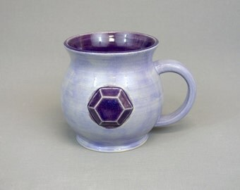 Amethyst Mug: Crystal Gem Inspired Steven Universe Ceramic Coffee Mug