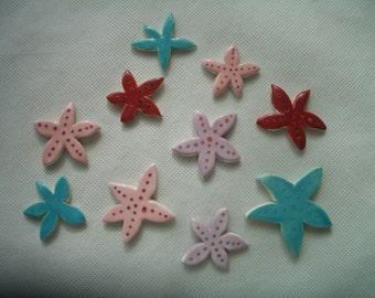 10E - Gorgeous Starfish - Ceramic Mosaic Tiles