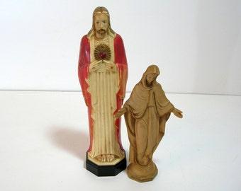 Plastic Jesus, Vintage Religious Figurines
