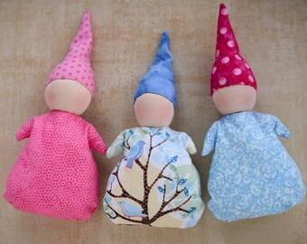 Waldorf Pocket Doll Kit DIY Small Waldorf Doll Materials