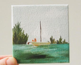 a sailor's life for me / original painting on canvas