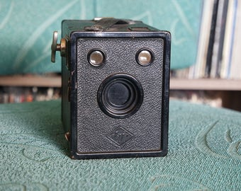 1930's Box Camera - Agfa Cadet B-2 - Takes 120 Film