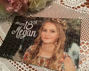Personalised Jigsaw Puzzles, 18th Birthday, 21st Birthday, Invitation