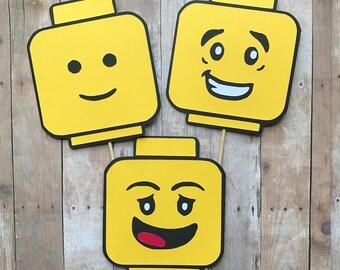 Lego Centerpieces Set Of 6