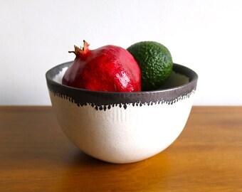 Second - Bronze/Cream Large Bowl