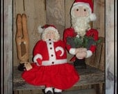 reserved for cyb0823 Mrs Claus Santa make do crows rabbit make do Mrs Santa HAFAIR OFG FAAP