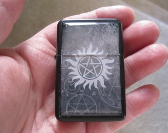 Supernatural Anti Possession Pentagram Refillable Lighter