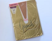Vintage Nylon Stockings Seamed Wispy Evening Sheer Pink Edge Welt 11 Long