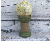 Globe - Small Globe - Decorative Orbs - Vintage Globe - Small Vintage Globe - World Globe - Miniature Globe - Globe Display - Miniature