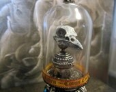 Raven ~ Corvus Corax No 9 dollhouse miniature, spooky, skull, oddity, curiosity, gothic, Poe in 1 12 scale