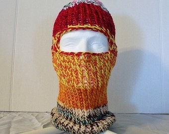 Unique Knitted Balaclava Related Items Etsy