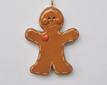 """Personalized Gingerbreadman Christmas ornament/ornament / Personalized ornament /personalized with names and date"""""""