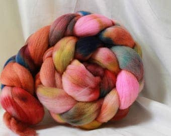 Hand painted/dyed fine merino (4.1 oz- 117 grams) #160